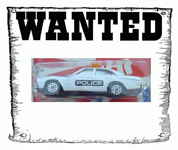 Corgi Juniors Buick Regal Police Car